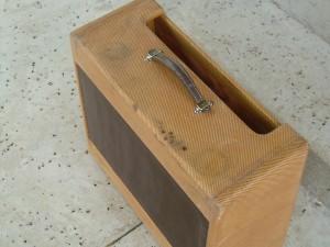 Fender Relic Cabinet for a Tweed Twinn Amplifier by Will Dyke