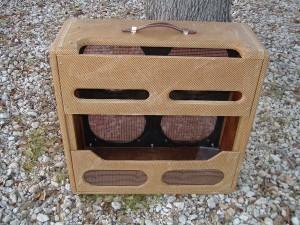Fender Bassman Restoration by Armadillo Amp Works