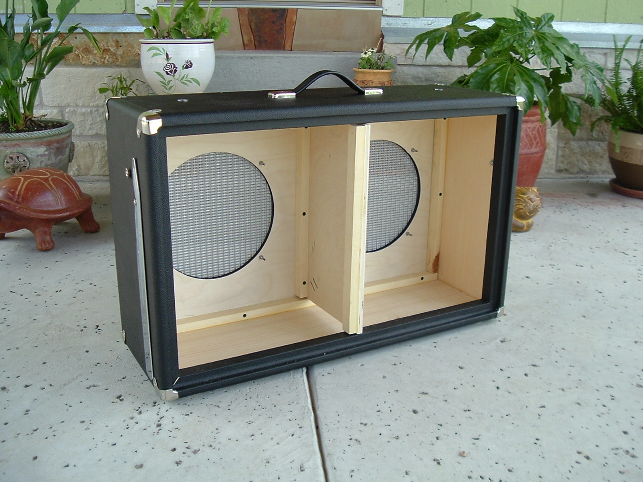 bassman with speakers loaded pin matching jbl cabinet fender