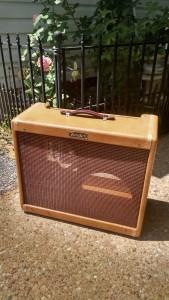 Restoration of a Fender Tweed Super Amplifier
