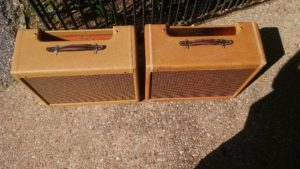 5E3 Fender Tweed Deluxe Relic Cabinets