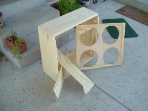 Bare Wood Super Reverb Amplifier Cabinet