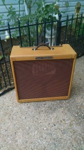 Fender Tweed Bandmaster Cabinet Restoration