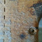 Cracked Tweed Bandmaster Cabinet