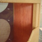 Authentic Finish on a Tweed Bassman Cabinet