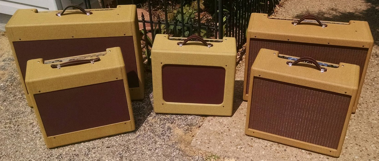 Reproduction Fender Amplifier Cabinets