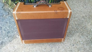 Fender Amplifier Cabinet Wide Panel Super