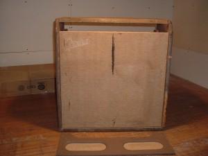 1961 brown fender concert amp/vintage amp restoration by Armadillo Amp Works
