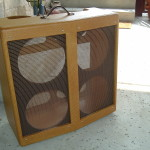 Tweed Bassman Custom V-Front Cabinet by Armadillo Amp Works