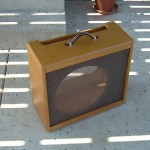 Fender amplifier cabinet for a 1957 Narrow Panel Tweed Pro by Armadillo Amp Works