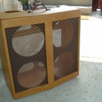 Custom V Front Cabinet for a Fender Bassman Amplifier