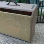 Brown Vibrolux Fender Replacement Amplifier Cabinet