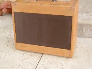 Distrressed Fender Tweed Wide Panel Super