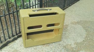 Fender TV Front Deluxe Replica Cabinet, rear view