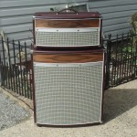 Custom 4*12 Speaker Cabinet with matching amplifier cabinet