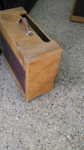 Relic Fender Replacement Cabinet for a Wide Panel Tweed Super