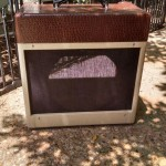 Custom Guitar Amplifier Cabinet for a tube amplifier