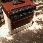 Custom Amplifier Cabinet for a Laney Tube Amplifier made by Armadillo Amp Works