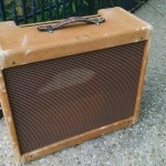 Authentic Fender Tweed Deluxe Reproduction