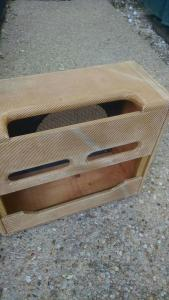Fender Relic Cabinet for a Tweed Deluxe Amplifier