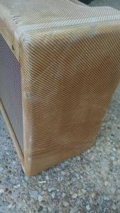 Tweed Deluxe Relic Cabinet by Armadillo Amp Works