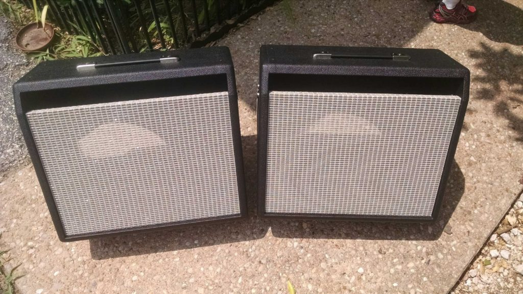 Custom Fender Amplifier Cabinets for Princeton Reverb